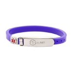 I previously wore this medical bracelet, but was worried it wouldn't catch a medical professional's eye in an emergency.